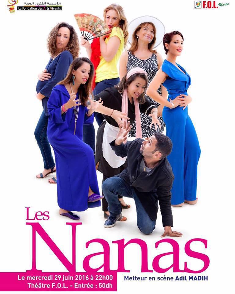 Théâtre - Les Nanas (Mise en scène Adil MADIH)