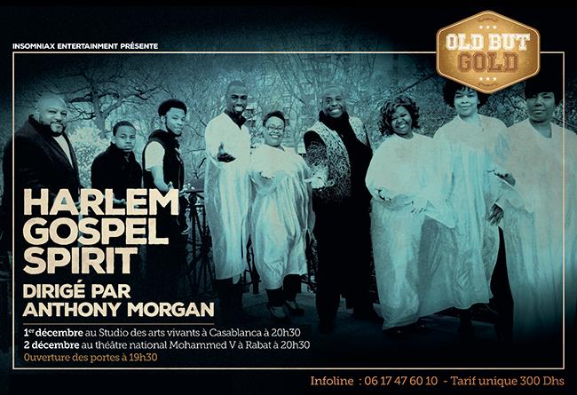Harlem Gospel Spirit Dirigé par Anthony Morgan - Casablanca-