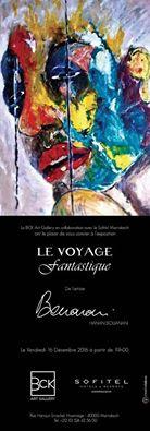 """Hanan Bouanani""""le voyage Fantastique"""" - Marrakech"""