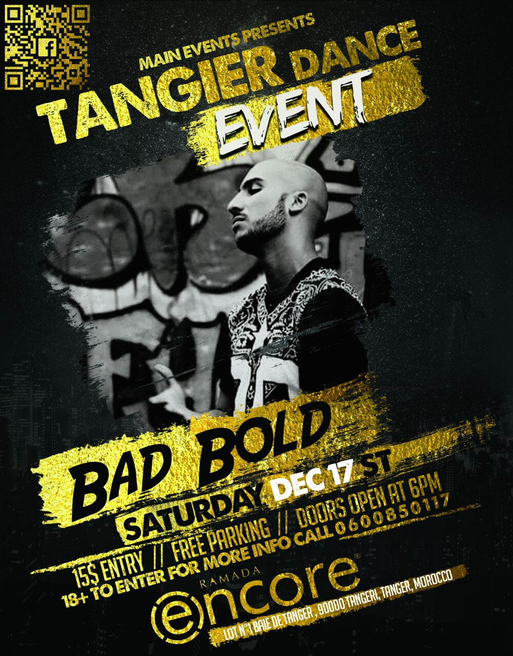 Tangier dance event - Tanger