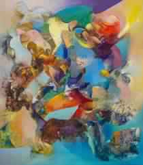 Mansouri Idrissi et Igor Louginov: La couleur sublimée dans l'œuvre de Mansouri Idrissi - Casabblanca
