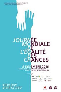 Journée Mondiale de l'égalité des Chances - 2ème édition - Casablanca
