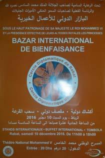 Bazar International de bienfaisance - Rabat