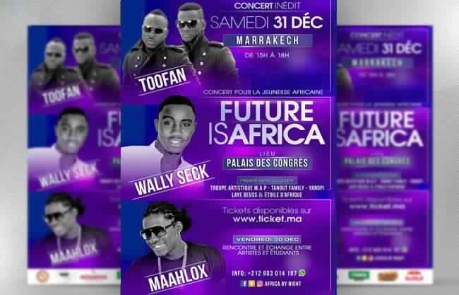Le Méga Concert de Wally Seck, Toofan, Maaihlox - Marrakech