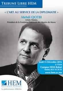 Mehdi Qotbi: L'art au service de la diplomatie - Rabat