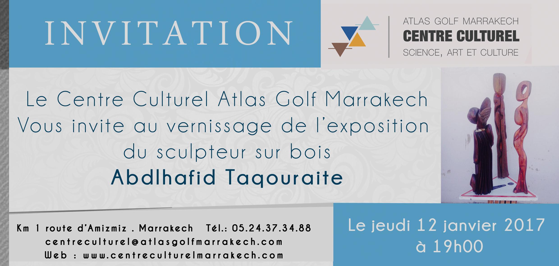 L'exposition de sculpteur sur bois « ABDLHAFID TAQOURAITE » - Marrakech