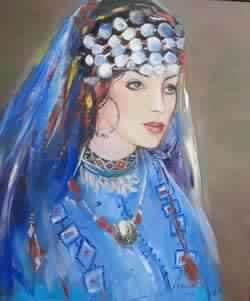 Arlette Fatime Didiche : Hommage à la femme et à la nature - Rabat