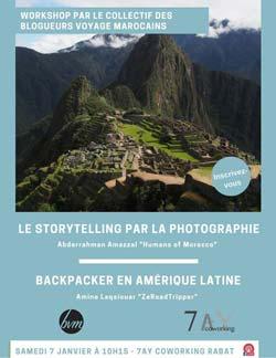 Storytelling par la photographie & Backpacker en Amérique Latine - Rabat