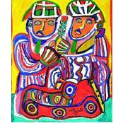 Chaïbia et Hossein Tallal: Une oeuvre en miroir - Casablanca