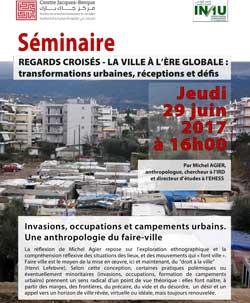 Invasions, occupations et campements urbains. Une anthropologie du faire-ville - Rabat