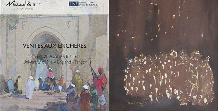 Mazad & Art rend hommage à Tanger - Tanger