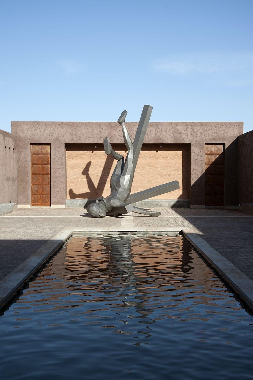 """Espace d'Art Montresso""""Jardin Rouge"""" - Marrakech"""