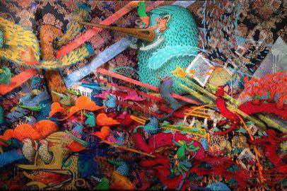 Vernissage de l'exposition Moment donné  - Marrakech
