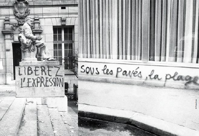 """Exposition """"Au coeur de mai 68"""" de Phillipe Gras - Casablanca"""