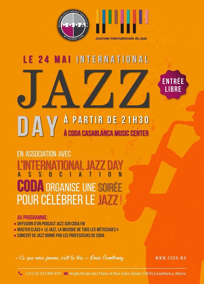 International Jazz Day  - Casablanca