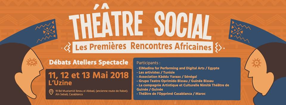 Rencontre Africaine de Théâtre Social - Casablanca