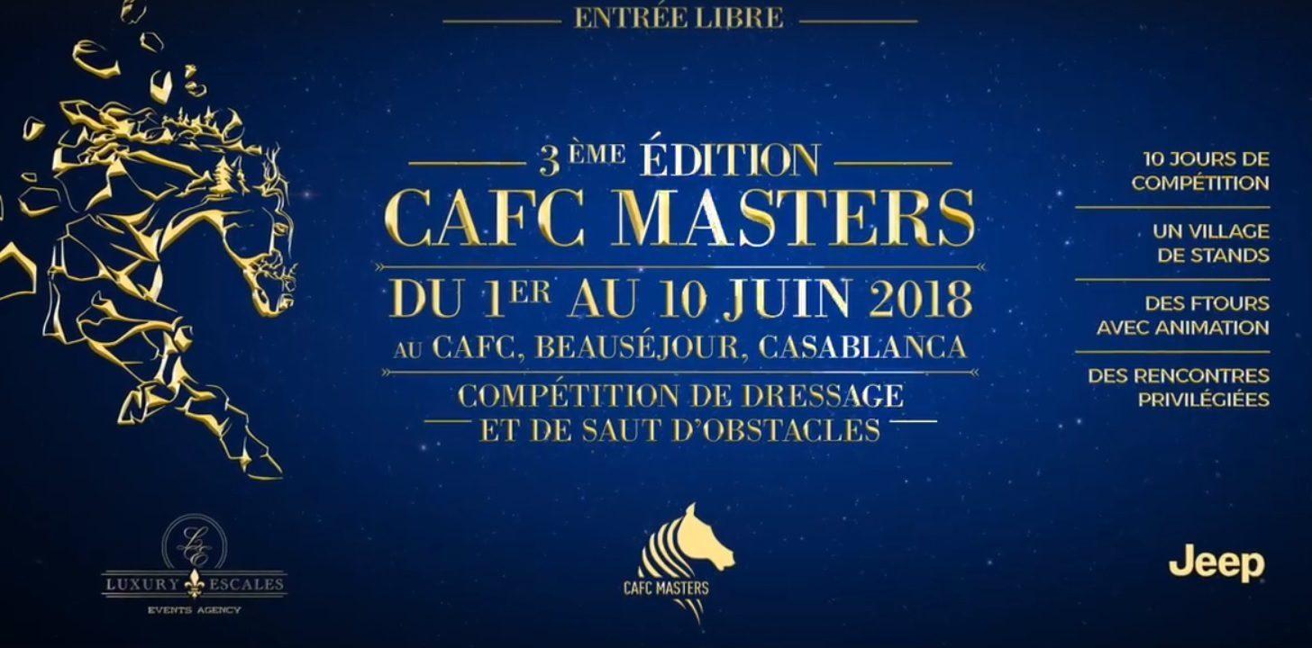 Exposition : CAFC  Masters 3 éme Édition  - Casablanca
