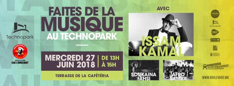 Faites de la Musique au Technopark - Casablanca