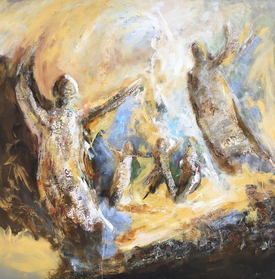 Exposition Retrouvailles de Mohammed Mekouar - Rabat