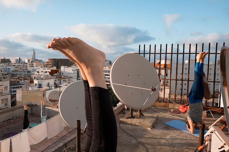 "Exposition "" Yoga sur le toit "" de Tamara Tufani & Ali Berrada - casablanca"