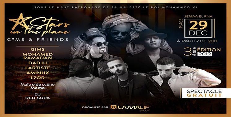«Stars in The Place» offre un concert exceptionnel à Marrakech - Marrakech