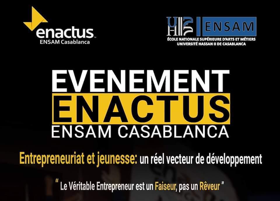 Entrepreneuriat et Jeunesse : Un Réel Vecteur De Développement - Casablanca