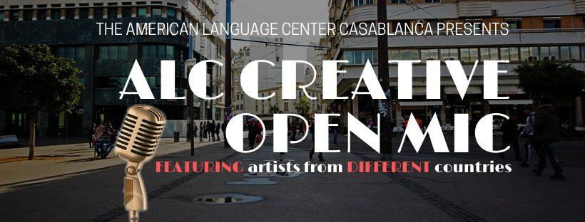ALC Creative Open Mic 4th Edition ''Free & Open'' - Casablanca