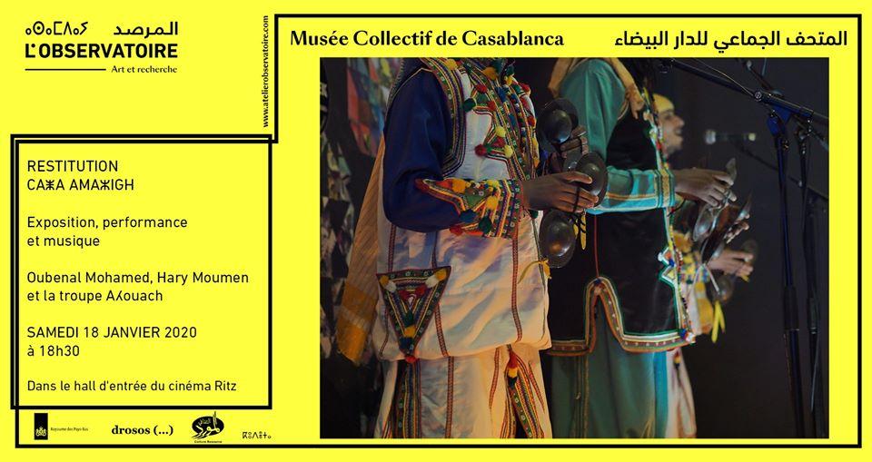 Restitution : CaZa AmaZigh - Casablanca
