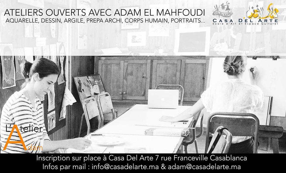 Casablanca : Aquarelle, Dessin, Argile - Casablanca