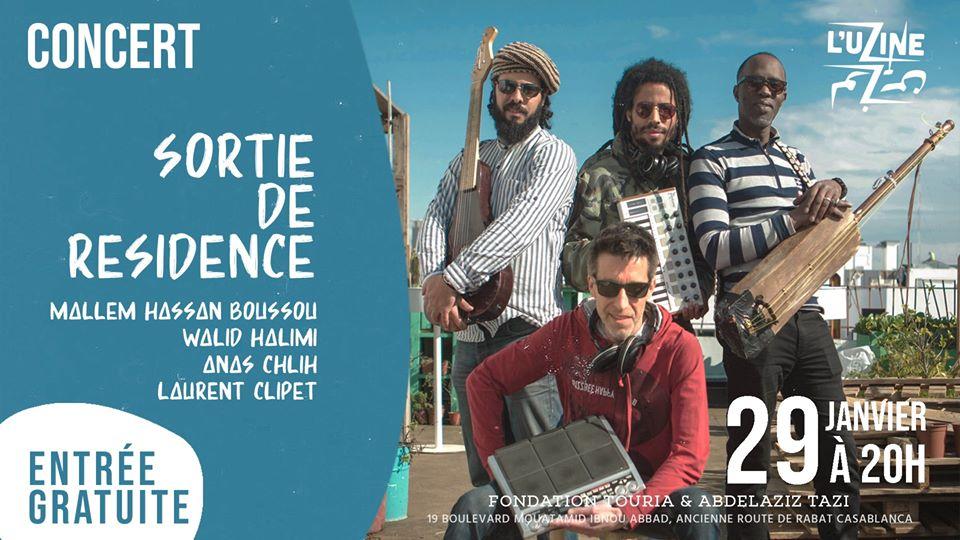 Concert Sortie de résidence Gnaoua - Casablanca