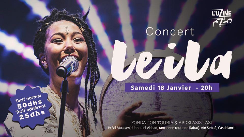 Concert - Leila - Casablanca