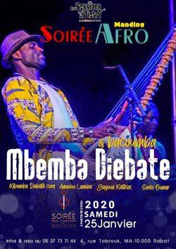Mbemba Diebate & bacoumba - Rabat