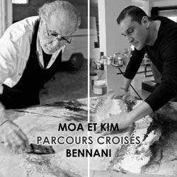 Moa et Kim Bennani : Parcours croisés - Rabat