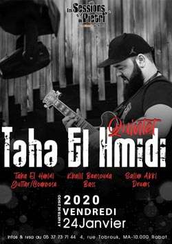 Taha El Hmidi quintet - Rabat