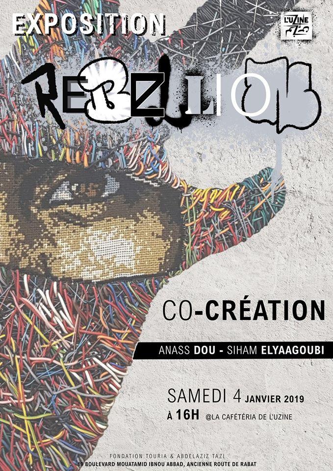 "L'exposition ""Rebellion"" - Casablanca"