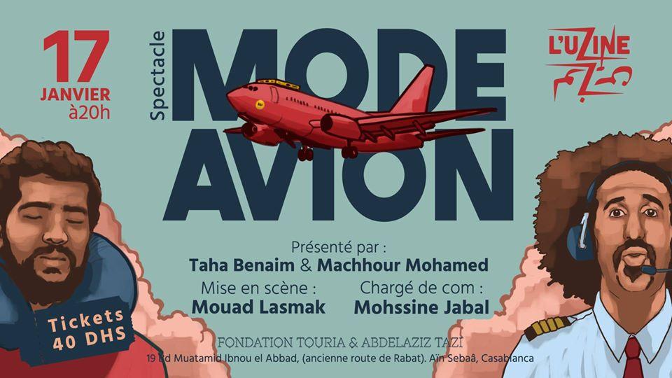 Spectacle - Mode Avion - Casablanca