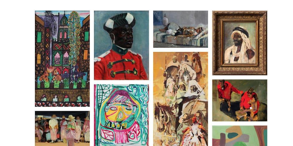 Vente aux enchères de tableaux et objets d'art - Marrakech