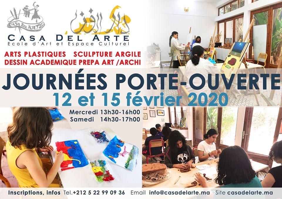 Journées Porte-Ouverte Arts Plastiques - Casablanca