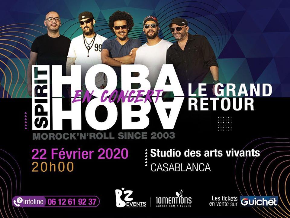 Hoba Hoba Spirit en Concert - Casablanca