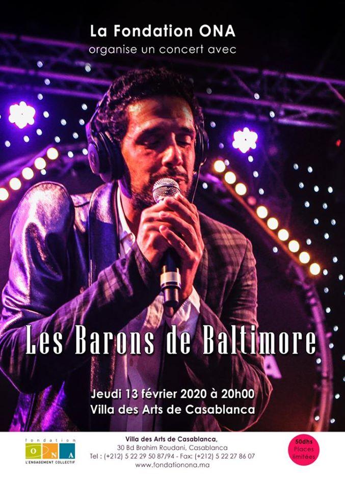 Les Barons de Baltimore à la Villa des Arts de Casablanca - Casablanca