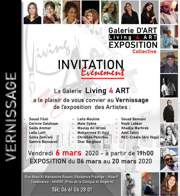 Exposition collective - Living 4 Art