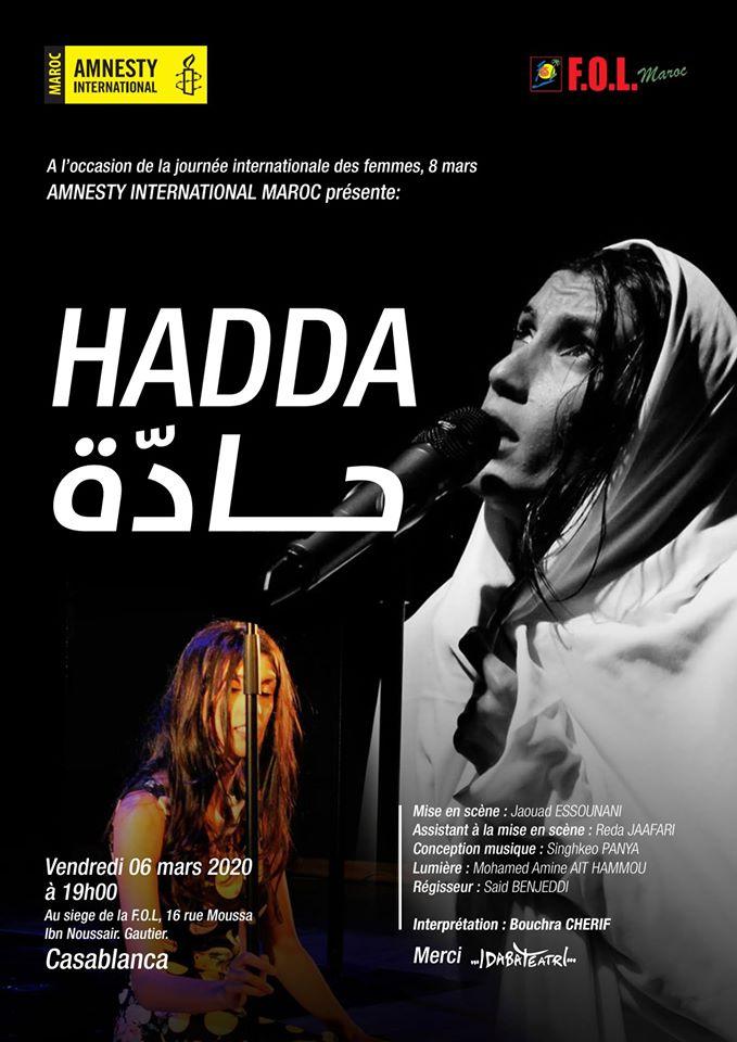 « Hadda » -Casablanca