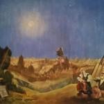 roman-lazarev-mixte-sur-toile-la-ville-sous-la-lune