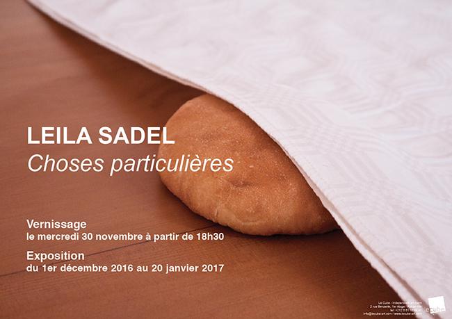 Leila Sadel chose particulière - Rabat