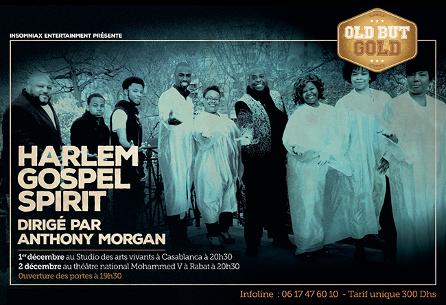 Harlem Gospel Spirit Dirigé par Anthony Morgan - Casablanca