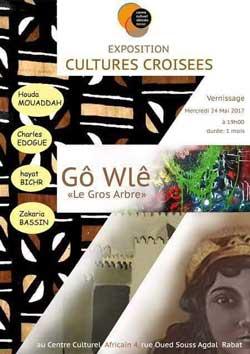 Exposition collective : Gô Wlê - Le gros arbre - Rabat