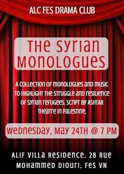 The Syrian monologues - Fès