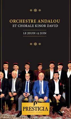 Orchestre Andalou et Chorale Kinor David - Casablanca