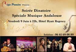 Soirée dînatoire spéciale musique andalouse - Casablanca