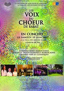 Les Voix du Choeur de Rabat - La musique au service de la spiritualité - Rabat